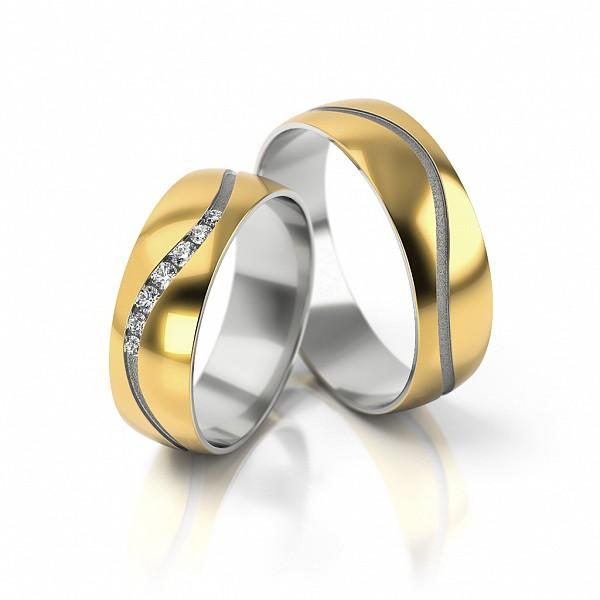 Trauring Hochzeitsringe Eheringe Mit Zirkonia 1 6