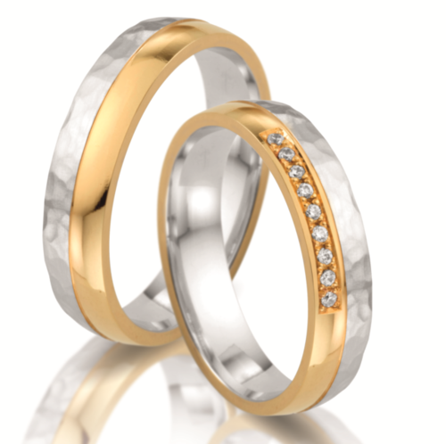 Trauringe - Steidinger - Kollektion Power of Love - Gold 333,375, 585, 750, Palladium