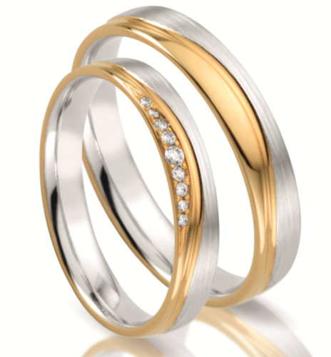 Trauringe - Steidinger - Kollektion Power of Love - Gold 333,375, 585, 750